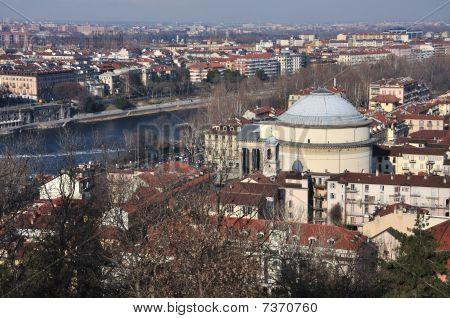 The Gran Madre di Dio Church, Turin, Italy