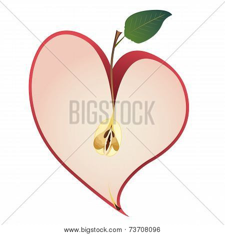 Apple As  Heart
