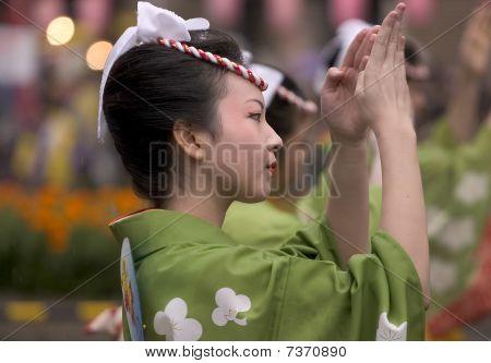 Japanese Festival Dancer