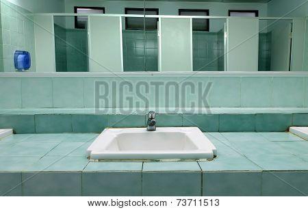 Interior Of Toilet