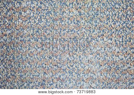 Close Up Of Colorful Carpet Texture