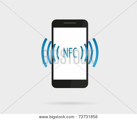 Smartphone with nfc function