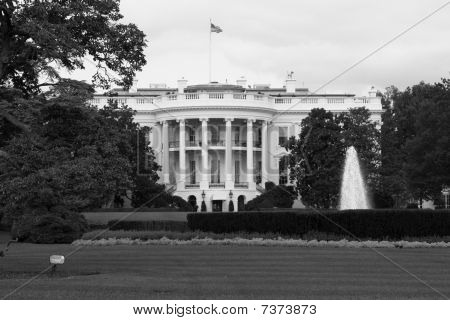 The White House Black & White