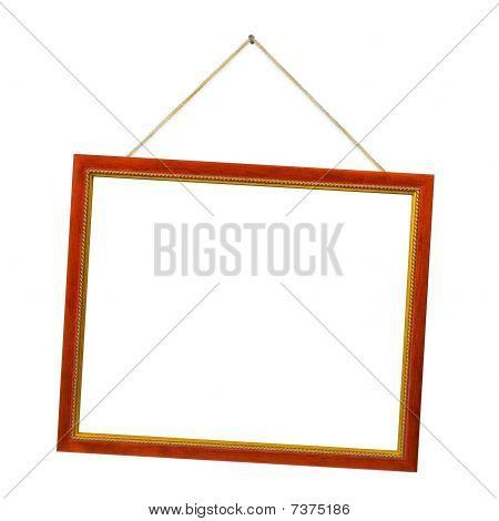 Retro Frame With String