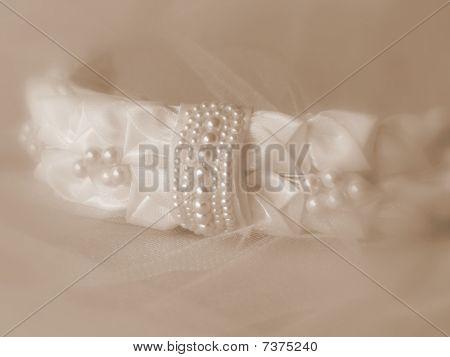 Bridal Veil Headband