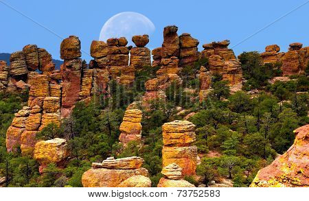 Chiricahua National Monument Moon