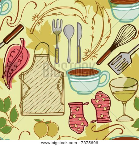 Housewife Cooking Utensils
