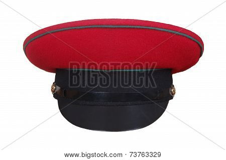 Red Military  Hat