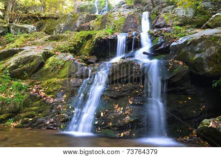 Dark Hollow Falls in Autumn, Shenandoah National Park, VA, USA