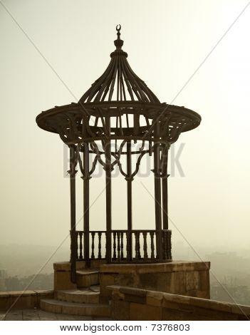 Dusky Blick über Kairo aus der Zitadelle
