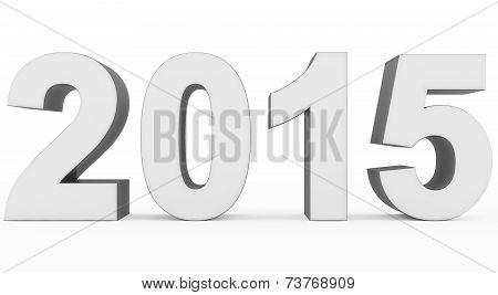 Year 2015 White-gray
