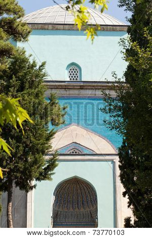 Green Tomb - entrance to mausoleum Bursa Turkey