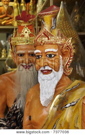 Hermit Statue Thailand