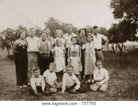 Vintage 1934 photo