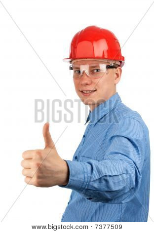 Young Construction Worker