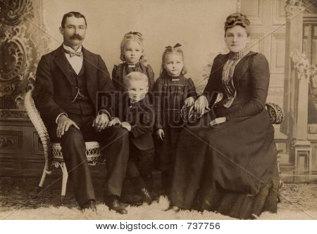 Vintage photo 1891