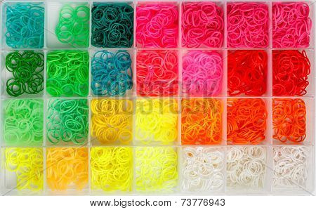 Rainbow Loom Rubber