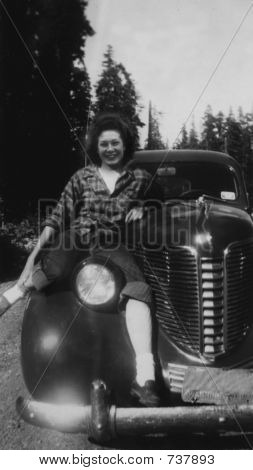 vintage 1948 photo