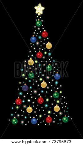 Christmas Tree of Lights