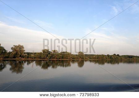 View Of Volga Riverbank
