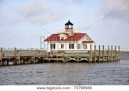 Roanoke Marshes Lighthouse, USA