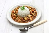 stock photo of southern  - gumbo with crawfish - JPG