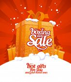 pic of boxing day  - Boxing day sale design - JPG