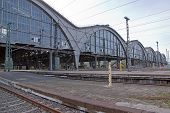 stock photo of leipzig  - Detail of the train stations of Leipzig - JPG