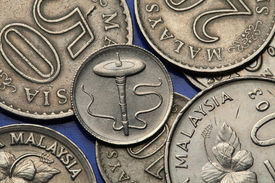 picture of gases  - Coins of Malaysia - JPG