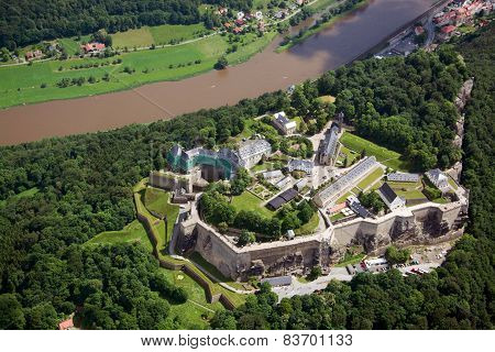 Fortress Koenigstein, Saxony, Germany