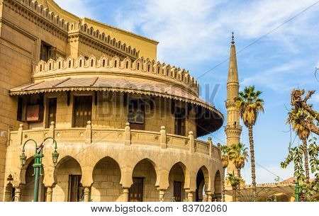 Old Administrative Building Of Al-azhar - Cairo, Egypt