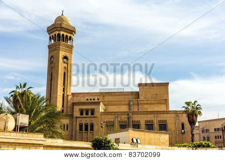Imam Mohammed Abdou Amphitheatre Of Al-azhar University In Cairo