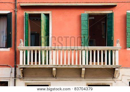 Balcony, Venice