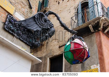 Street Decoration, Venice