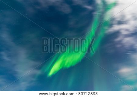 Aurora in the sky