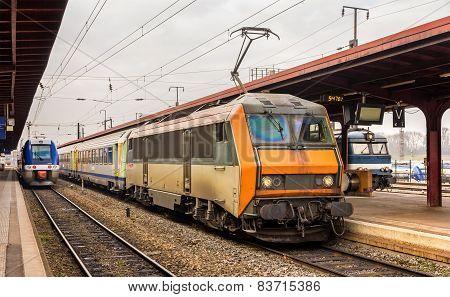 Regional express train in France