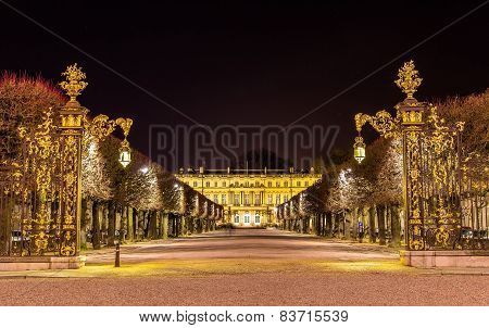 Place De La Carriere, Unesco Heritage Site In Nancy, France