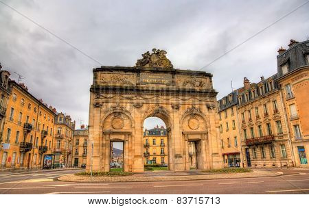 Porte Désilles, A Triumphal Arch In The French City Of Nancy