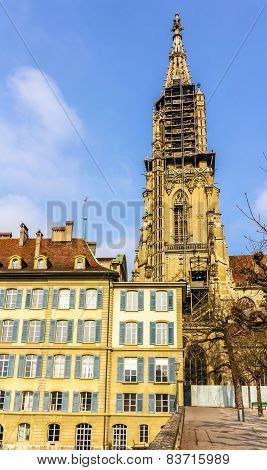 Belfry Of The Bern Cathedral - Switzerland