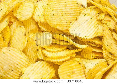 Salted Corrugated Potato Chips