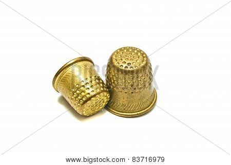 Two Golden Thimbles