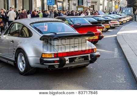 Porsche at Regent street motor show