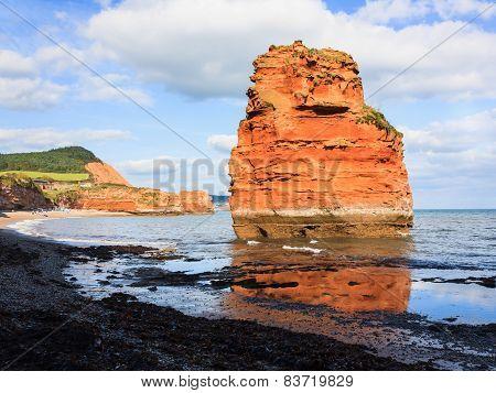 Ladram Bay Devon England