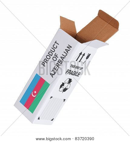 Concept Of Export - Product Of Azerbaijan