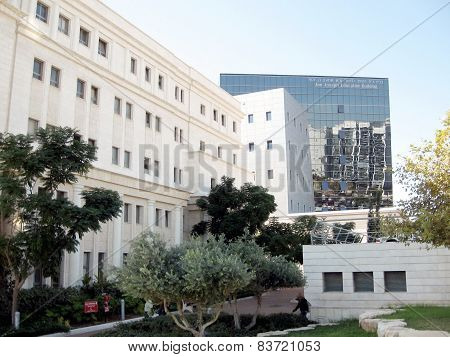 Bar-ilan University Psychology Building And Education Building  2009