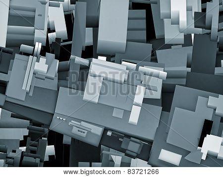 Abstract Urban City