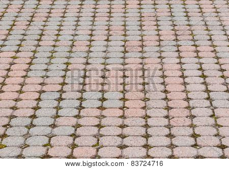 Octagonal Paving Stone Pattern