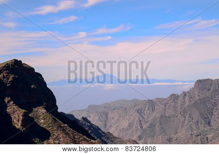 View of El Teide Volcan in Tenerife
