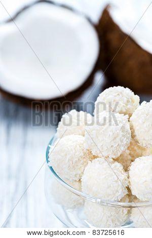Some Coconut Pralines