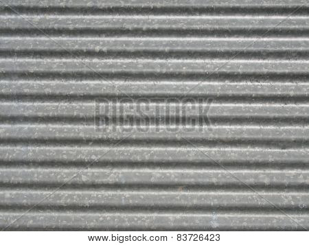 Corrugated metal texture surface.